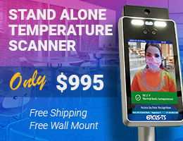 Temperature Scanner Kiosk