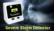 Alert citizens faster with a Severe Storm Detector. No cell service, web or weather radio needed.